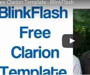 BlinkFlash Free Template